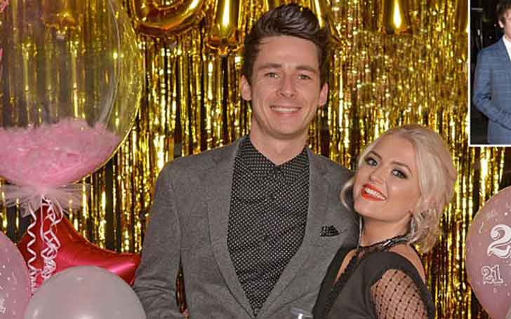 Lucy Fallon is dating her beau Tom Leech