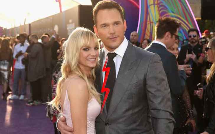 'Jurassic World'Chris Pratt and his wife Anna Faris has called it quit 'Legally separated.'