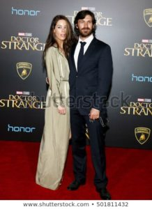 """Eoin Macken & Kellie Blaise at the world premiere of Marvel Studios' """"Doctor Strange"""" at the El Capitan Theatre, Hollywood."""