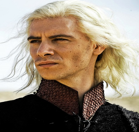Harry Lloyd during his role as Viserys Targaryen in Game Of Throne.