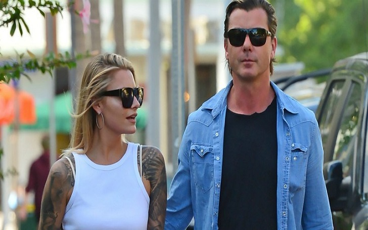 Gavin Rossdale and his model girlfriend, Sophia Thomalla are official dating, announced through social media!