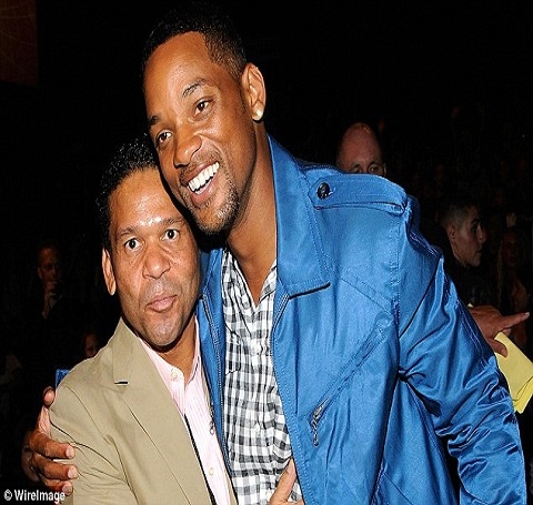 Benny Medina and Will Smith attending an event back in 2008