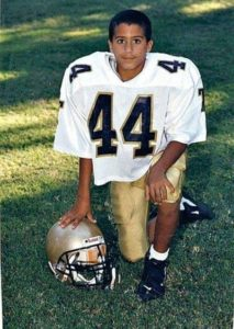 Colin Kaepernick's childhood photo