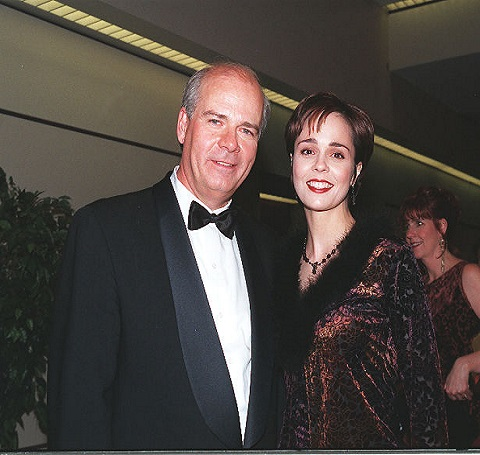 Peter Mansbridge and Cynthia Dale