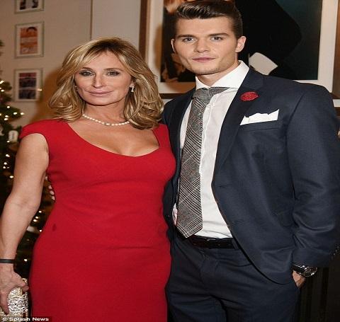 Sonja Morgan and Dominik Percy