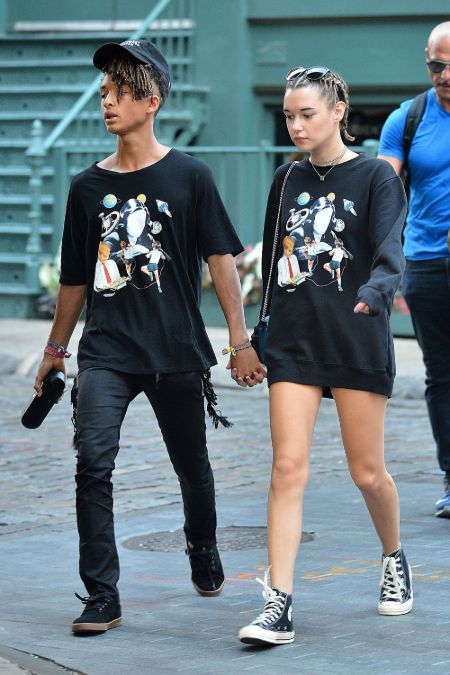 Sarah Snyder was in a romantic relationship with Jaden Smith