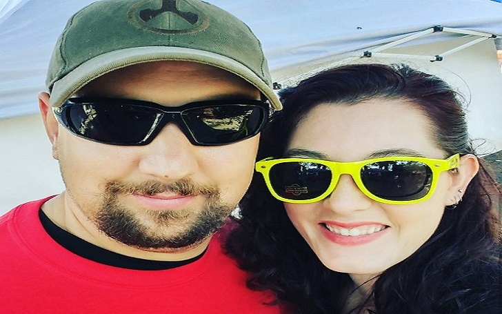 Mandy Harvey and her husband Travis