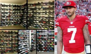Colin Kaepernick's shoe collection