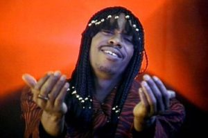 Dave Chappelle as a Rick James
