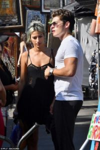 Lexy Pantera spotted with her boyfriend in public