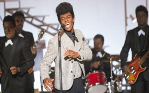 Chadwick as legendary James Brown in 'Get On Up.' Bring some Jazz dude.