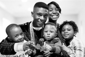 Lil Boosie with his family
