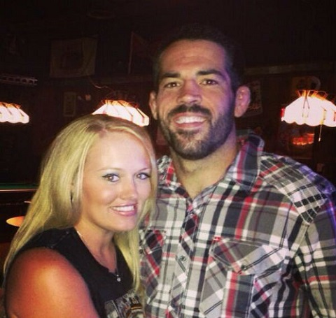 Matt Brown with wife Colleen