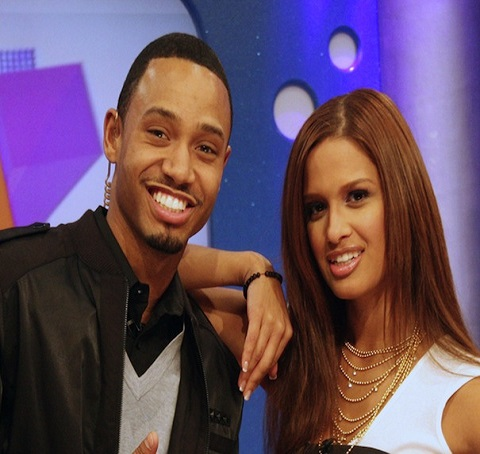 Terrence J with his co-host in 106 & Park