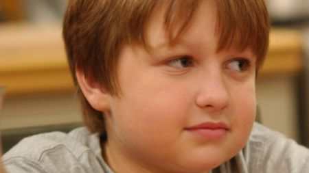 Angus T. Jones at his early age