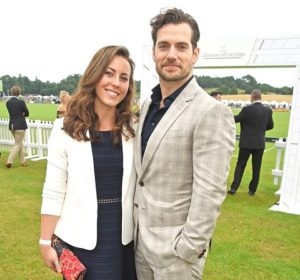 Henry Cavill and her former partner, Lucy Cork