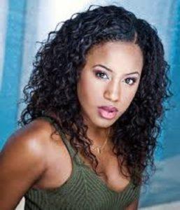 Singer and actress, Ashanti Bromfield