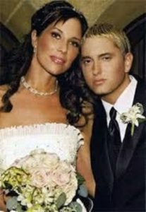 Former wife and husband, Kim and Eminem
