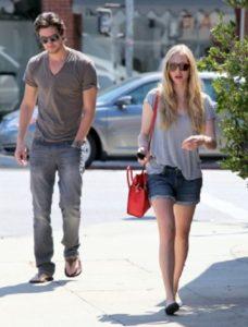 Ben Barnes and Amanda Seyfried