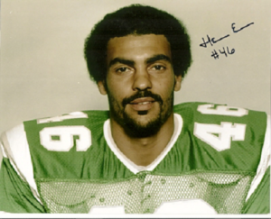 Herman Edwards' young age photo