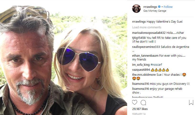 Richard Rawlings married life, chldren, wiki, bio, dating