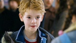 """Thomas Sangster as Sam in the 2003 film """"Love Actually."""""""