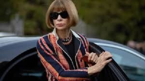 Journalist and editor, Anna Wintour