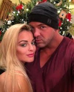 Mandy Rose and her boyfriend, Michael Lubic