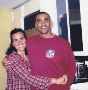 Herman Edwards and his wife