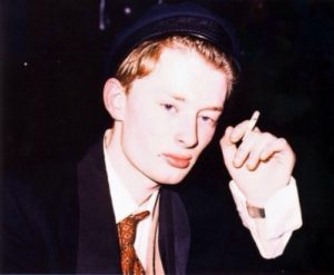 Thom Yorke's young age photo