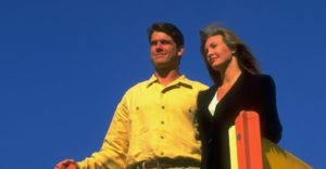 Jim Harbaugh with ex-wife Miah Harbaugh