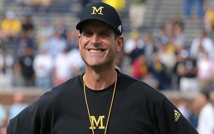 Michigan Wolverines Football Head Coach Jim Harbaugh Has A Blissful Married Life With Wife And Kids! Know His Wiki, Net Worth And Contract Details