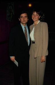 Carey Lowell and her former spouse Griffin Dunne