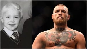 Conor McGregor 's childhood photo