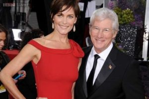 Carey Lowell and her former husband Richard Gere