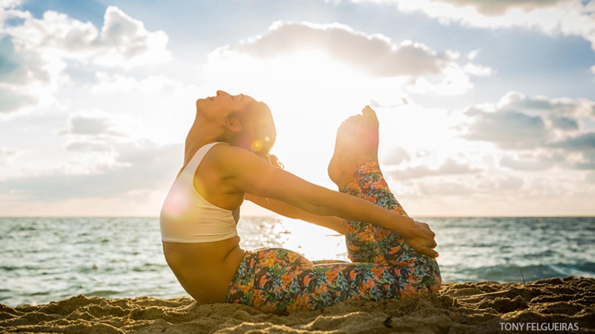 Yoga provides healty life