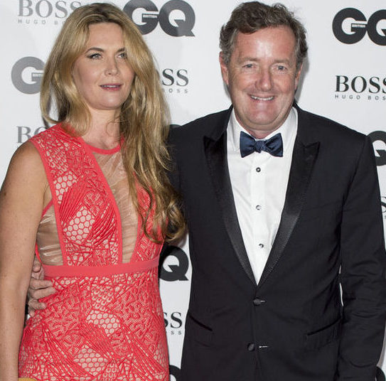 Piers Morgan Married Wife Divorce Children Career
