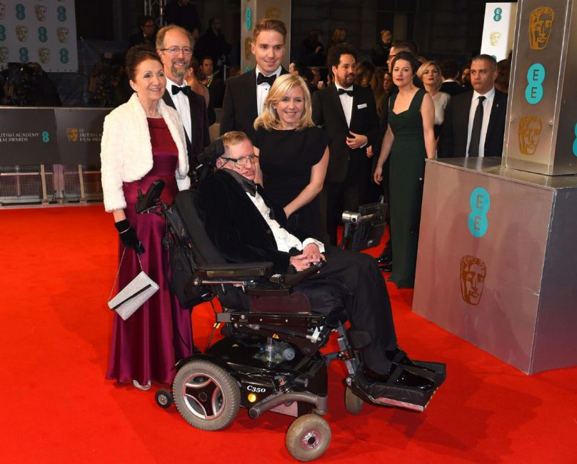 Stephen Hawking family wife children