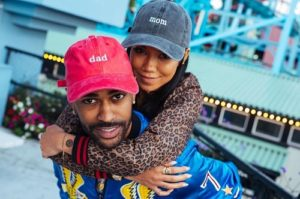 Big Sean and his girlfriend turned wife,  Jhene Aiko