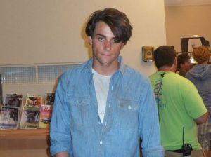 Jack Falahee teenage photo