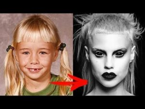 Yolandi Visser childhood photo