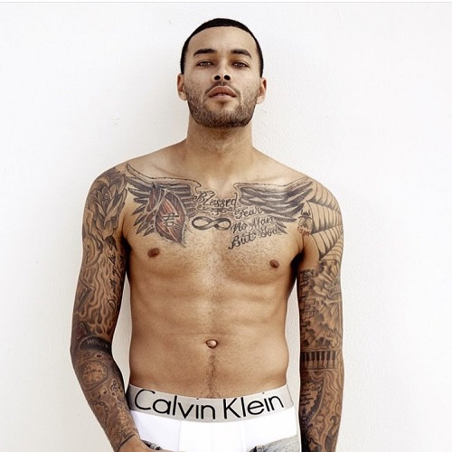 Don Benjamin tattoos.