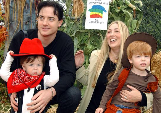Brendan Fraser children, family, wife, parents, wiki, bio