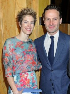 Gael Anderson and her spouse, Andrew Lincoln