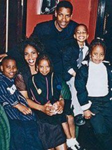 Katia Washington's early family photo