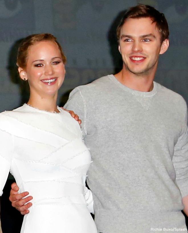 Nicholas Hoult girlfriend, Jennifer Lawrence, dating, married, wife