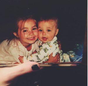 Aspyn Ovard childhood photo