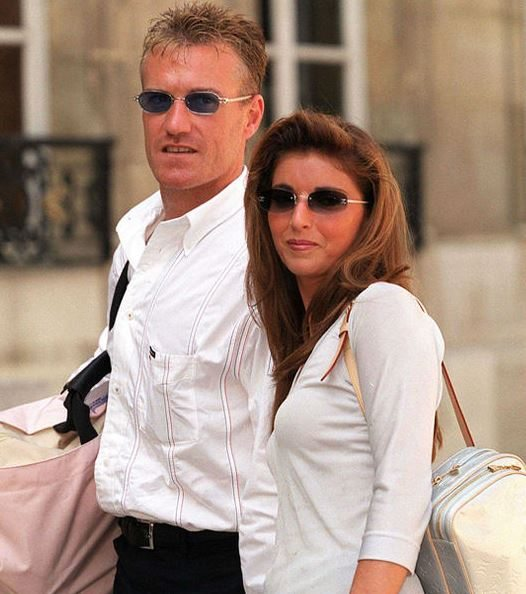 Didlier Deschamps and his wife
