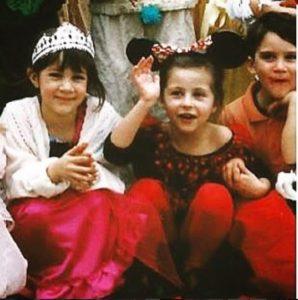 Sophie Brussaux's childhood photo