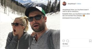 Canadian actress, Cindy and her boyfriend